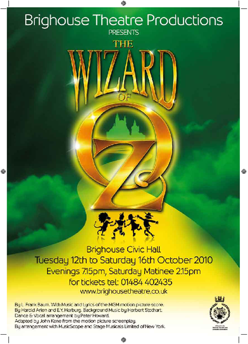 Wizard of Oz - October 2010